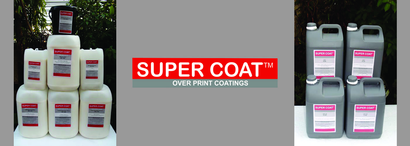 Over Print Coatings - AQUEOUS & UV